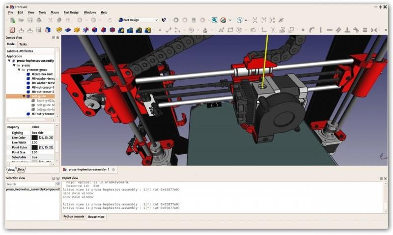 FreeCAD:一个免费开源的多平台3D参数建模器