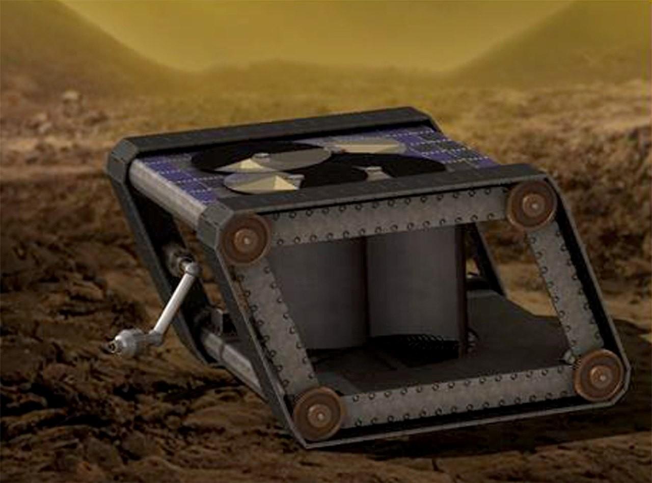 适用于极端环境的自动火星车
