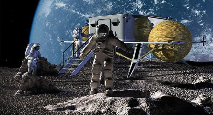 俄罗斯科学家提议建造无人驾驶月球穿梭机