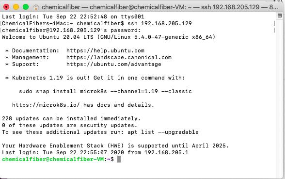 mac终端ssh连接Linux(Ubuntu)笔记