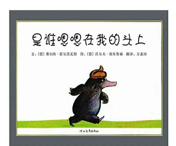 15《是谁嗯嗯在我的头上》:轻松愉快讲解了每种大便的不同,趣味性和知识性兼具的好书