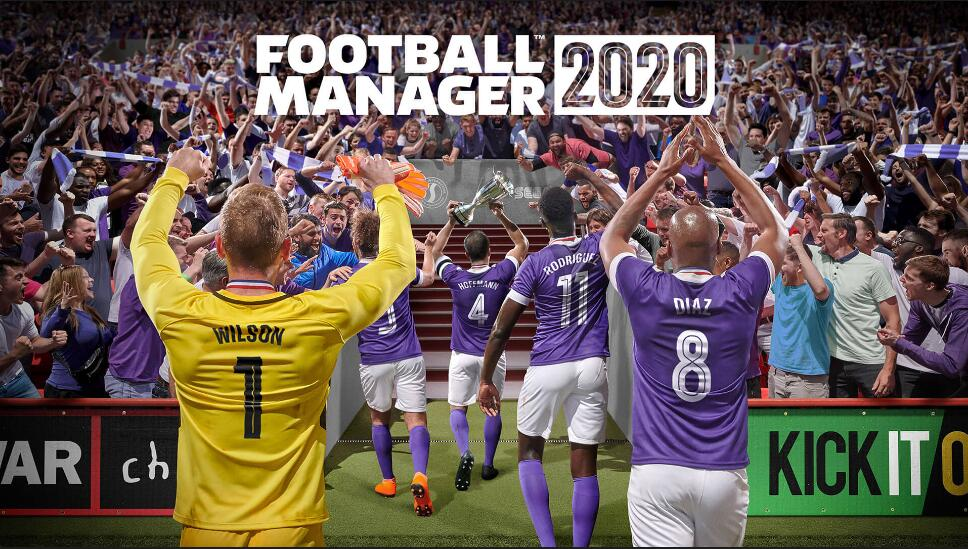 《Football Manager 2020》