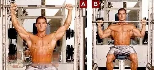新入行的健身选手怎样磨炼肩部肌-追梦健身网