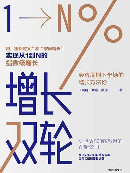 《增长双轮:经济周期下半场的增长方法论》王晓明/龚焱epub+mobi+azw3
