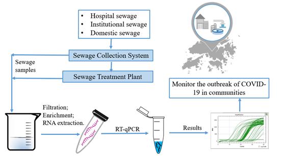 香港大学领导团队研发检测污水中COVID-19病毒作为公共卫生防控手段