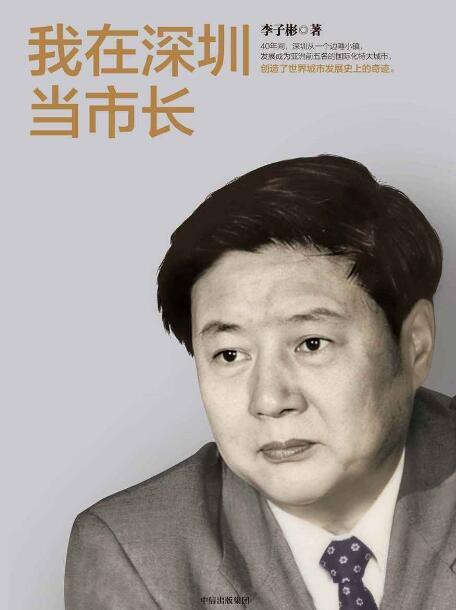 《我在深圳当市长》李子彬epub+mobi+azw3