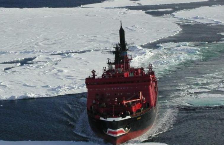 俄科学家找到北极破冰船材料合金强度翻倍的方法