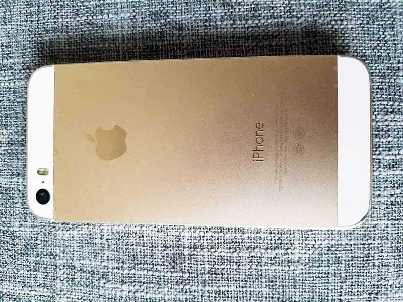 苹果【iPhone 5s】全网通 玫瑰金 16G 国行 7成新 16G 真机实拍