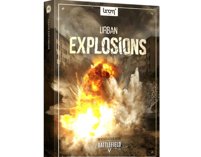 2417个电影游戏预告片炸弹导弹爆炸音效WAV无损音效素材包 Boom Library Urban Explosions Bundle WAV