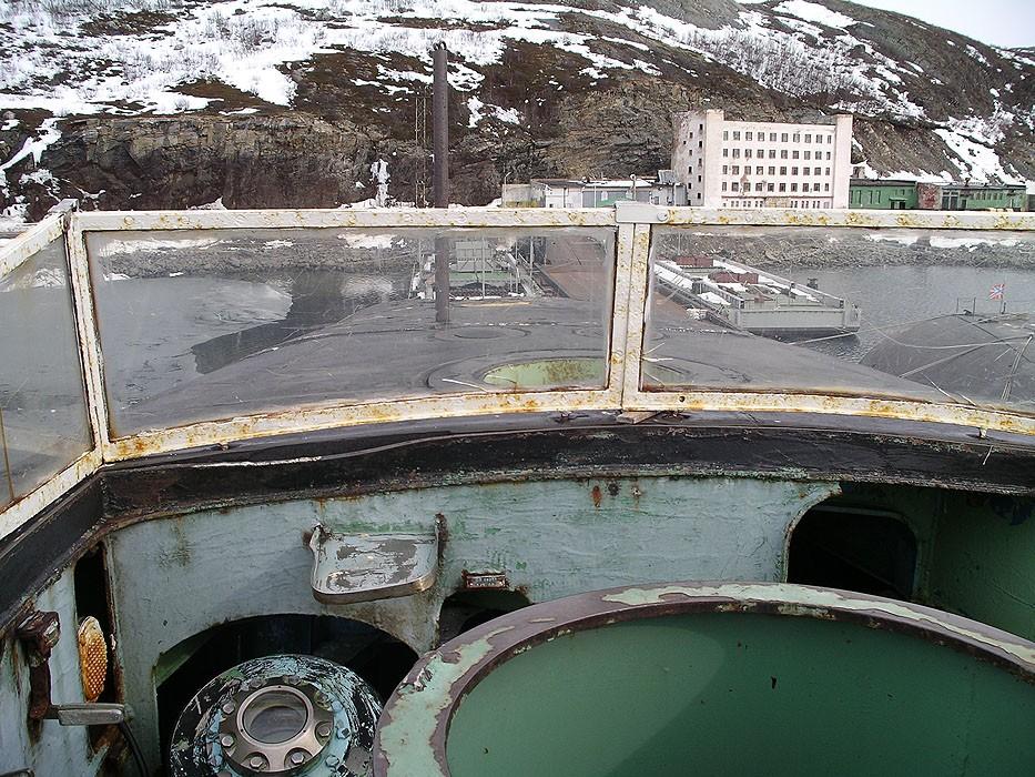 """941型""""鲨鱼""""级潜艇:世界最大战略核潜艇内部照片"""