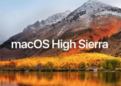 macOS macOS High Sierra 10.13.6(17G65)官方纯净恢复版