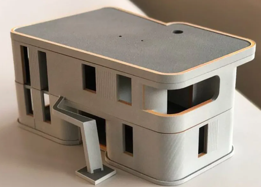 欧洲首个可居住的3D打印建筑即将竣工
